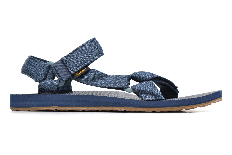 Sandales et nu-pieds Teva Original universal Bleu vue derrière