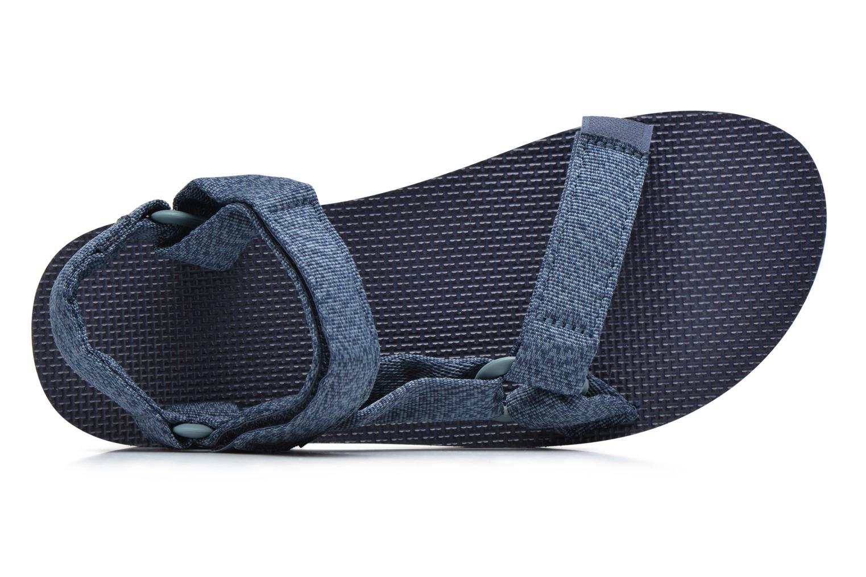 Sandales et nu-pieds Teva Original universal Bleu vue gauche
