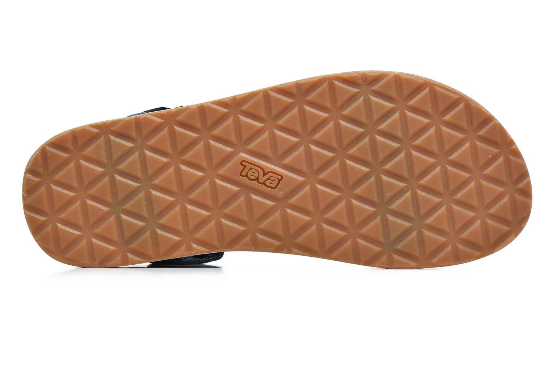 Sandales et nu-pieds Teva Original universal Bleu vue haut
