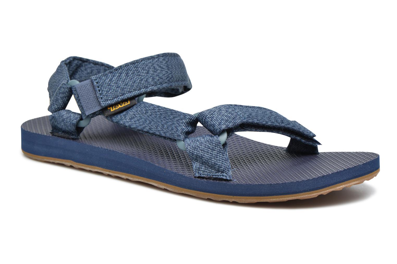 Sandales et nu-pieds Teva Original universal Bleu vue détail/paire
