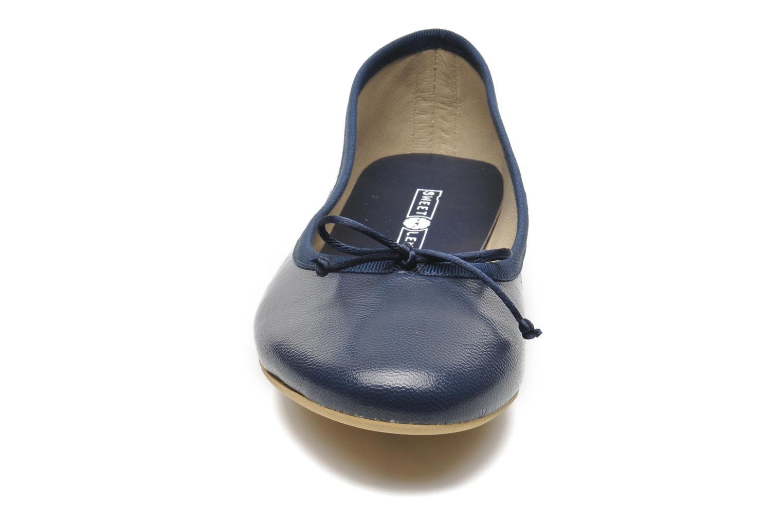 Ballerinas Sweet Lemon L.18.RABLA blau schuhe getragen