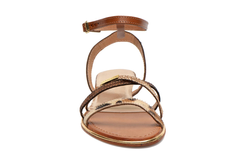 Sandales et nu-pieds Les Tropéziennes par M Belarbi Bianca Multicolore vue portées chaussures