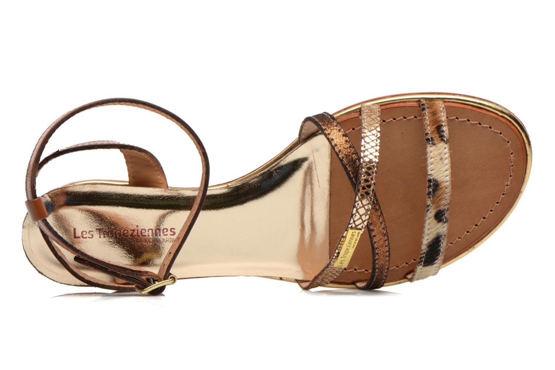 Sandales et nu-pieds Les Tropéziennes par M Belarbi Bianca Multicolore vue gauche
