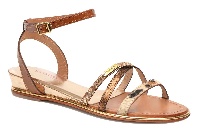 Sandales et nu-pieds Les Tropéziennes par M Belarbi Bianca Multicolore vue détail/paire