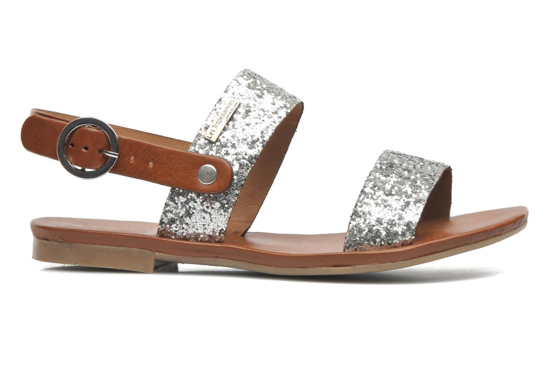 Sandales et nu-pieds Les Tropéziennes par M Belarbi Biniou Argent vue derrière