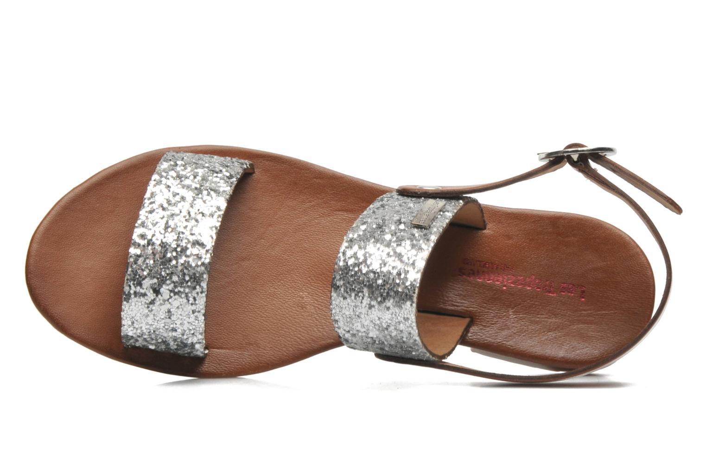 Sandales et nu-pieds Les Tropéziennes par M Belarbi Biniou Argent vue gauche