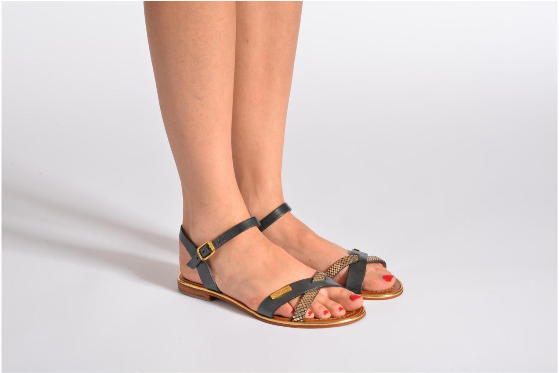 Sandalen Les Tropéziennes par M Belarbi Balade mehrfarbig ansicht von unten / tasche getragen