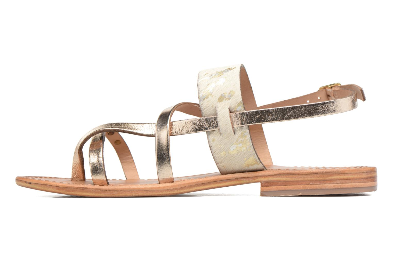 Sandalen Les Tropéziennes par M Belarbi Baule Goud en brons voorkant
