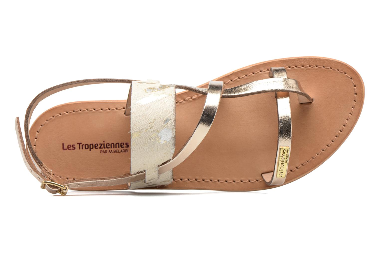 Sandali e scarpe aperte Les Tropéziennes par M Belarbi Baule Oro e bronzo immagine sinistra