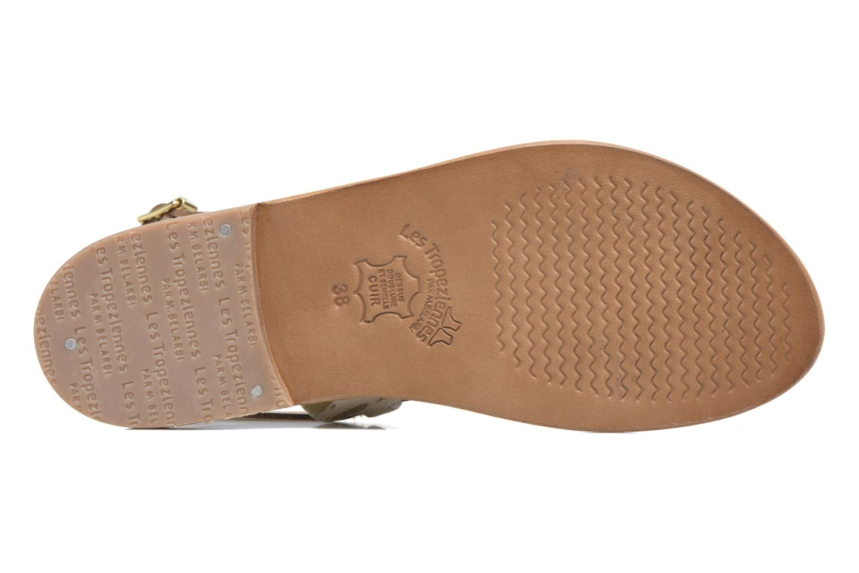 Sandals Les Tropéziennes par M Belarbi Baule Bronze and Gold view from above