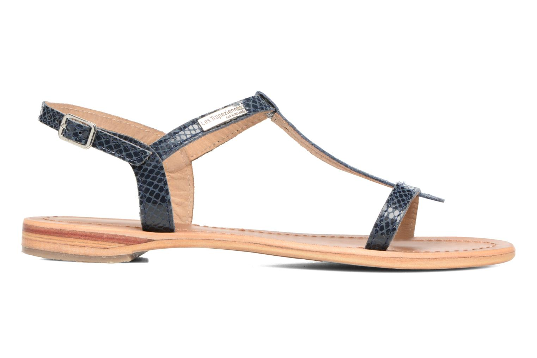 Sandales et nu-pieds Les Tropéziennes par M Belarbi Hamat Bleu vue derrière
