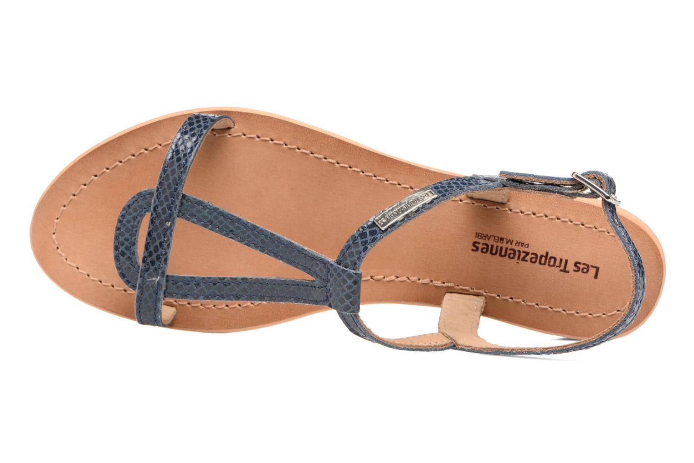 Sandales et nu-pieds Les Tropéziennes par M Belarbi Hamat Bleu vue gauche