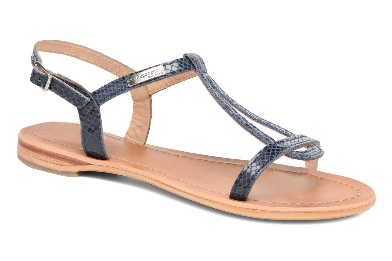 Sandales et nu-pieds Les Tropéziennes par M Belarbi Hamat Bleu vue détail/paire