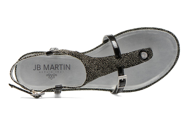 Sandales et nu-pieds JB MARTIN 2Gaelia Noir vue gauche