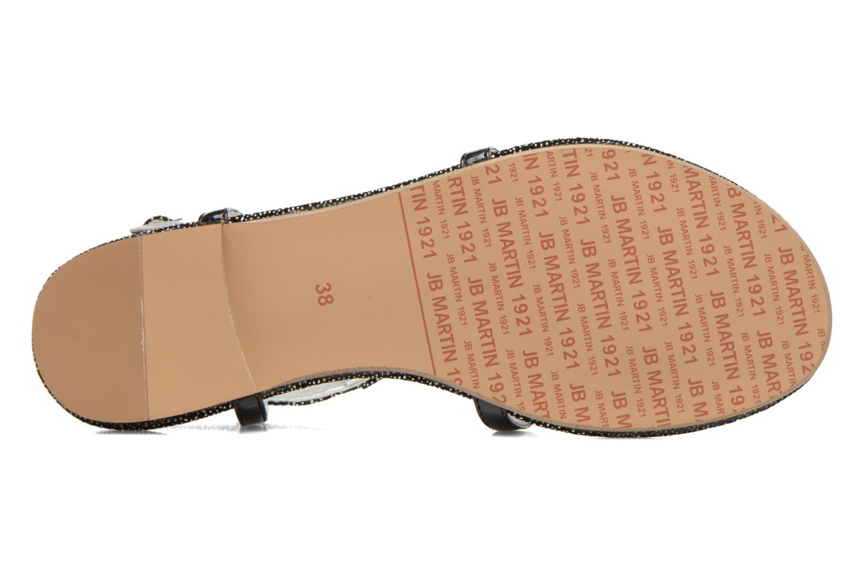 Sandales et nu-pieds JB MARTIN 2Gaelia Noir vue haut