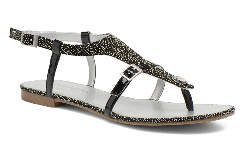 Sandales et nu-pieds JB MARTIN 2Gaelia Noir vue détail/paire