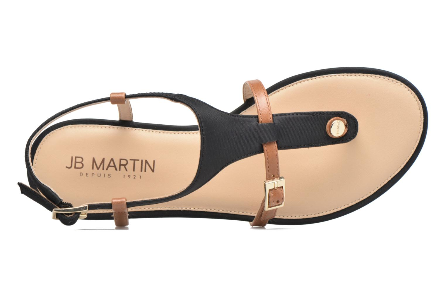 Sandals JB MARTIN 2Gaelia Black view from the left