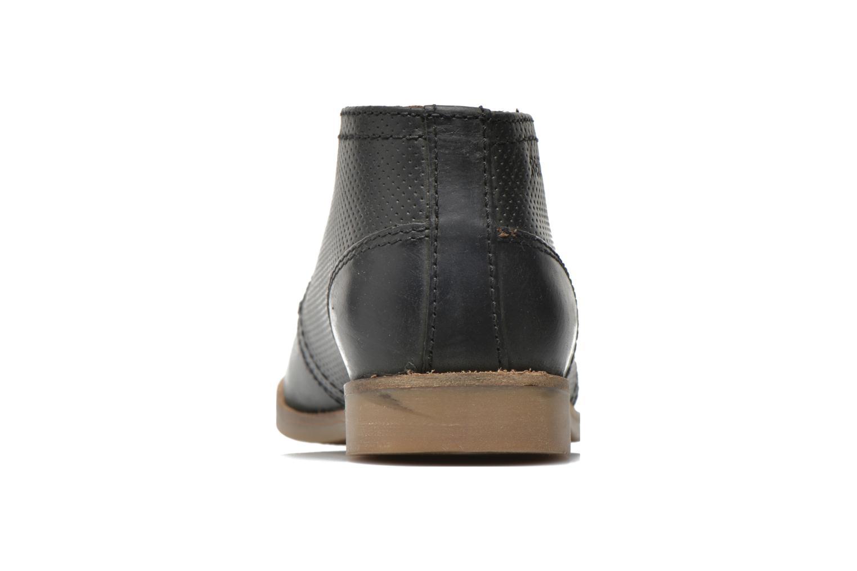Zapatos con cordones Redskins Wolna Negro vista lateral derecha