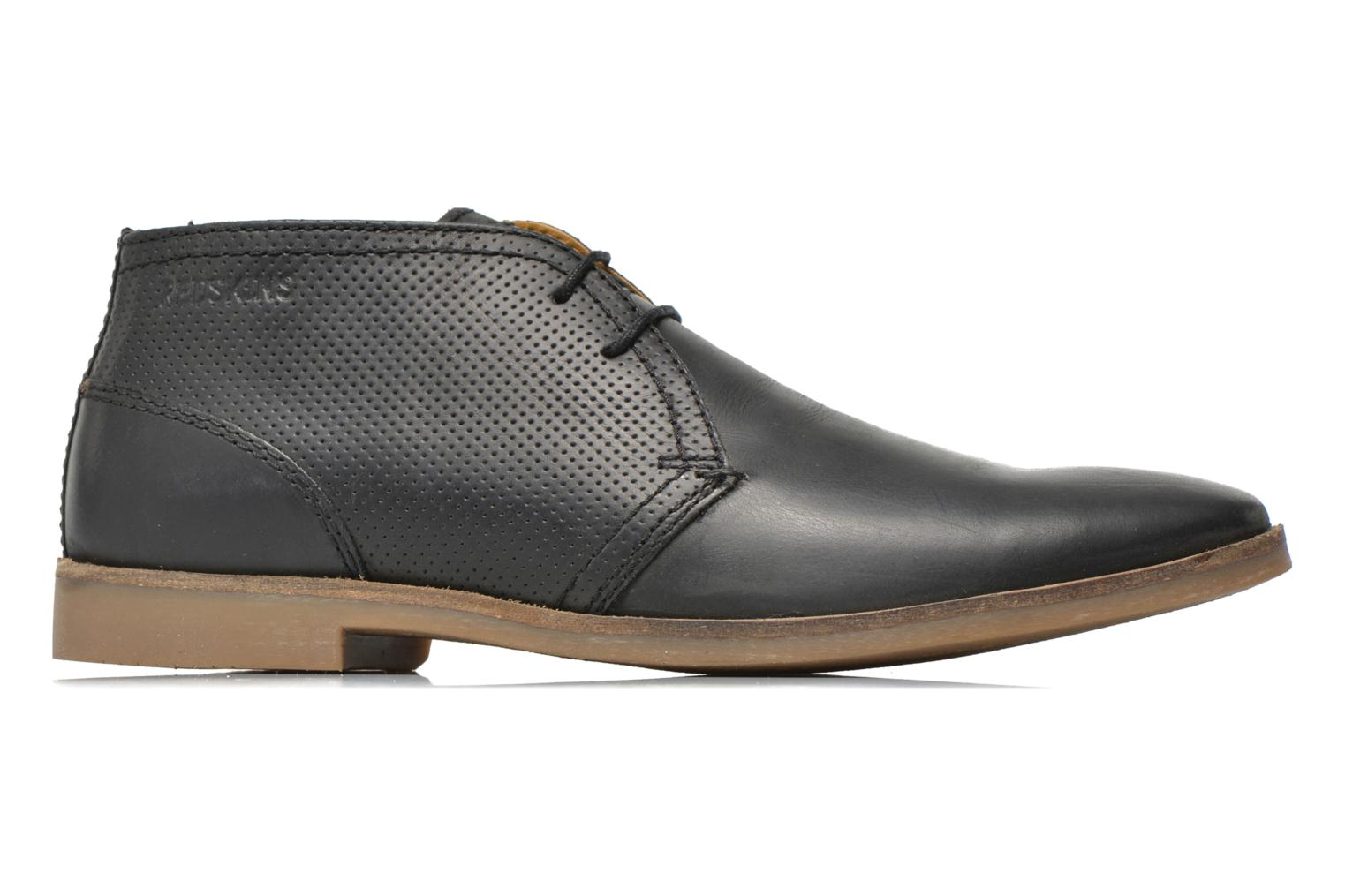 Lace-up shoes Redskins Wolna Black back view