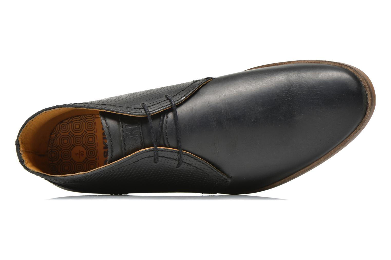 Zapatos con cordones Redskins Wolna Negro vista lateral izquierda