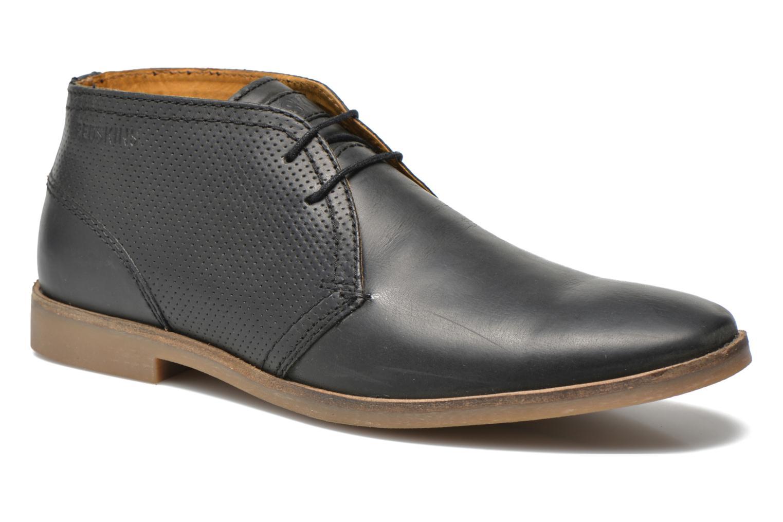 Zapatos con cordones Redskins Wolna Negro vista de detalle / par