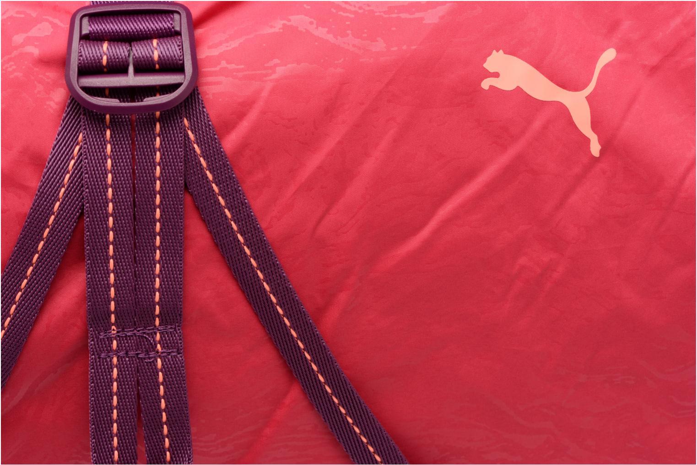 Bolsas de deporte Puma Fit AT Sports Duffle Rosa vista lateral izquierda
