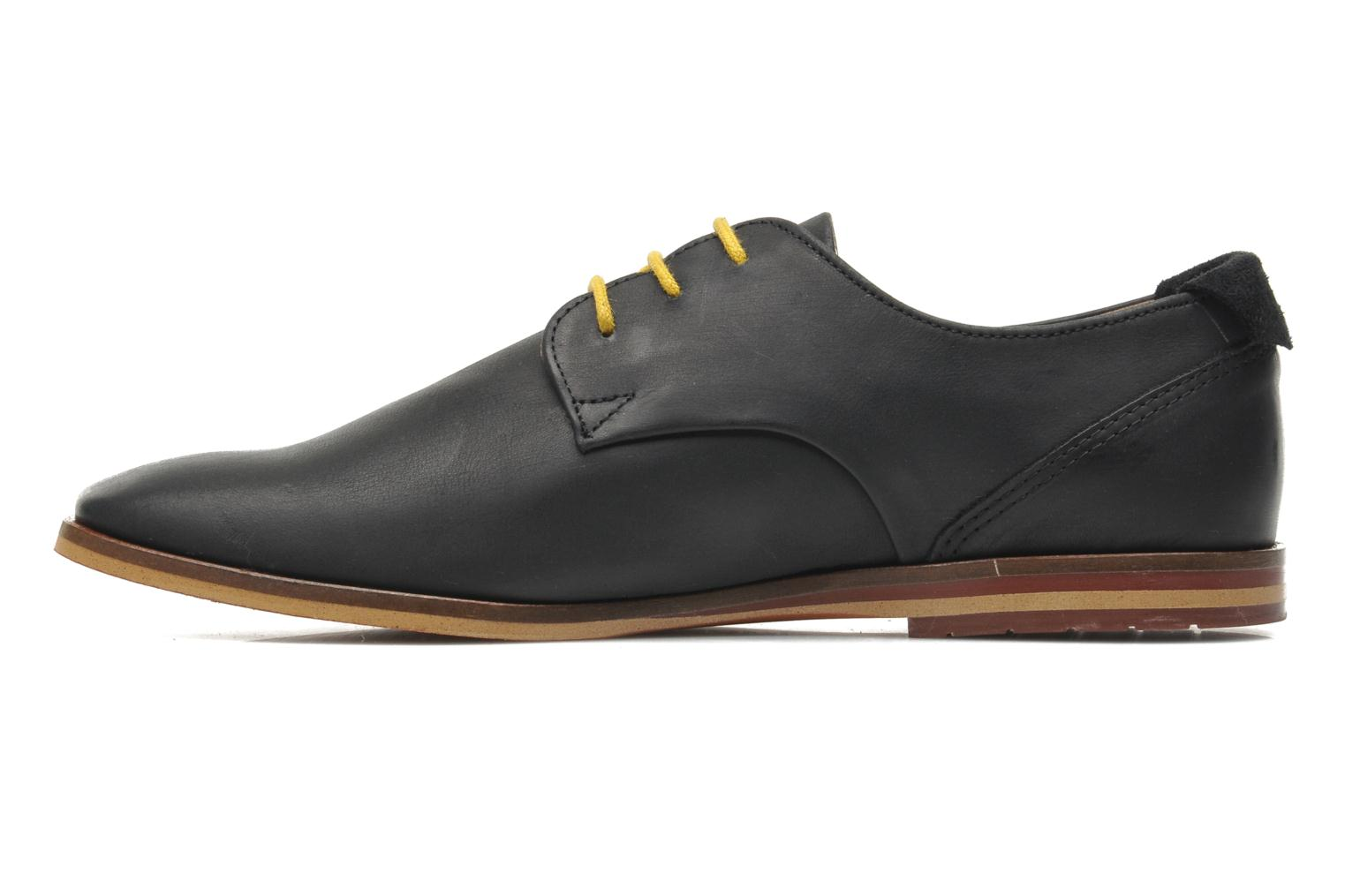 Lace-up shoes Schmoove Swan derby Black front view