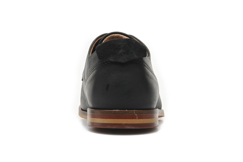 Snörade skor Schmoove Swan derby Svart Bild från höger sidan