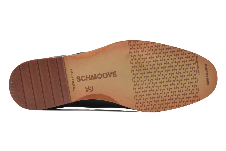 Snörade skor Schmoove Swan derby Svart bild från ovan