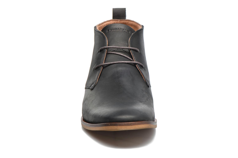 Chaussures à lacets Schmoove Swan desert Noir vue portées chaussures