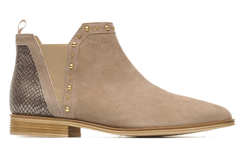 Bottines et boots Schmoove Woman Velours Low Boots Beige vue derrière