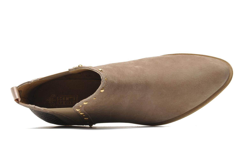 Bottines et boots Schmoove Woman Velours Low Boots Beige vue gauche