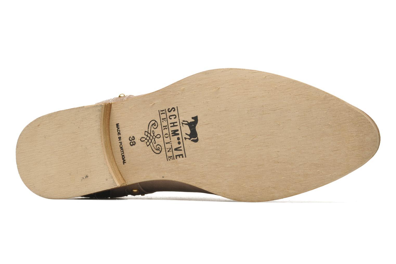 Bottines et boots Schmoove Woman Velours Low Boots Beige vue haut