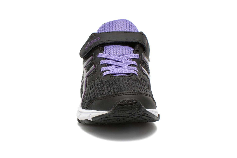 Sneaker Asics Pre Galaxy 8 Ps schwarz schuhe getragen