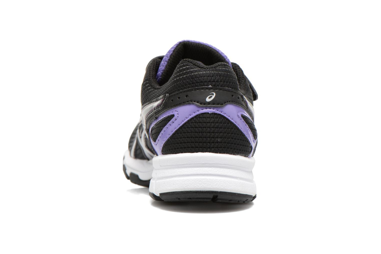 Sneaker Asics Pre Galaxy 8 Ps schwarz ansicht von rechts