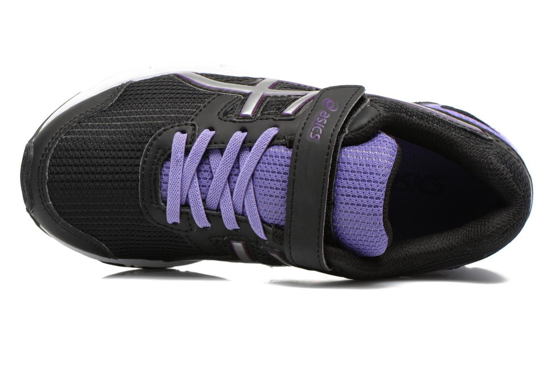 Sneaker Asics Pre Galaxy 8 Ps schwarz ansicht von links