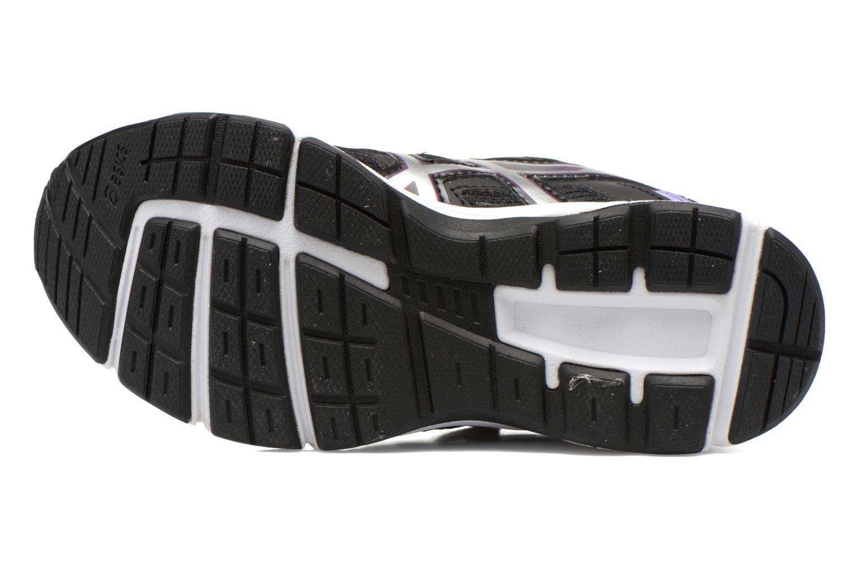 Sneaker Asics Pre Galaxy 8 Ps schwarz ansicht von oben