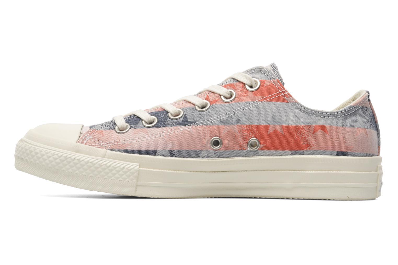 Sneaker Converse Chuck Taylor Bars & Stars Jaquard Ox W mehrfarbig ansicht von vorne