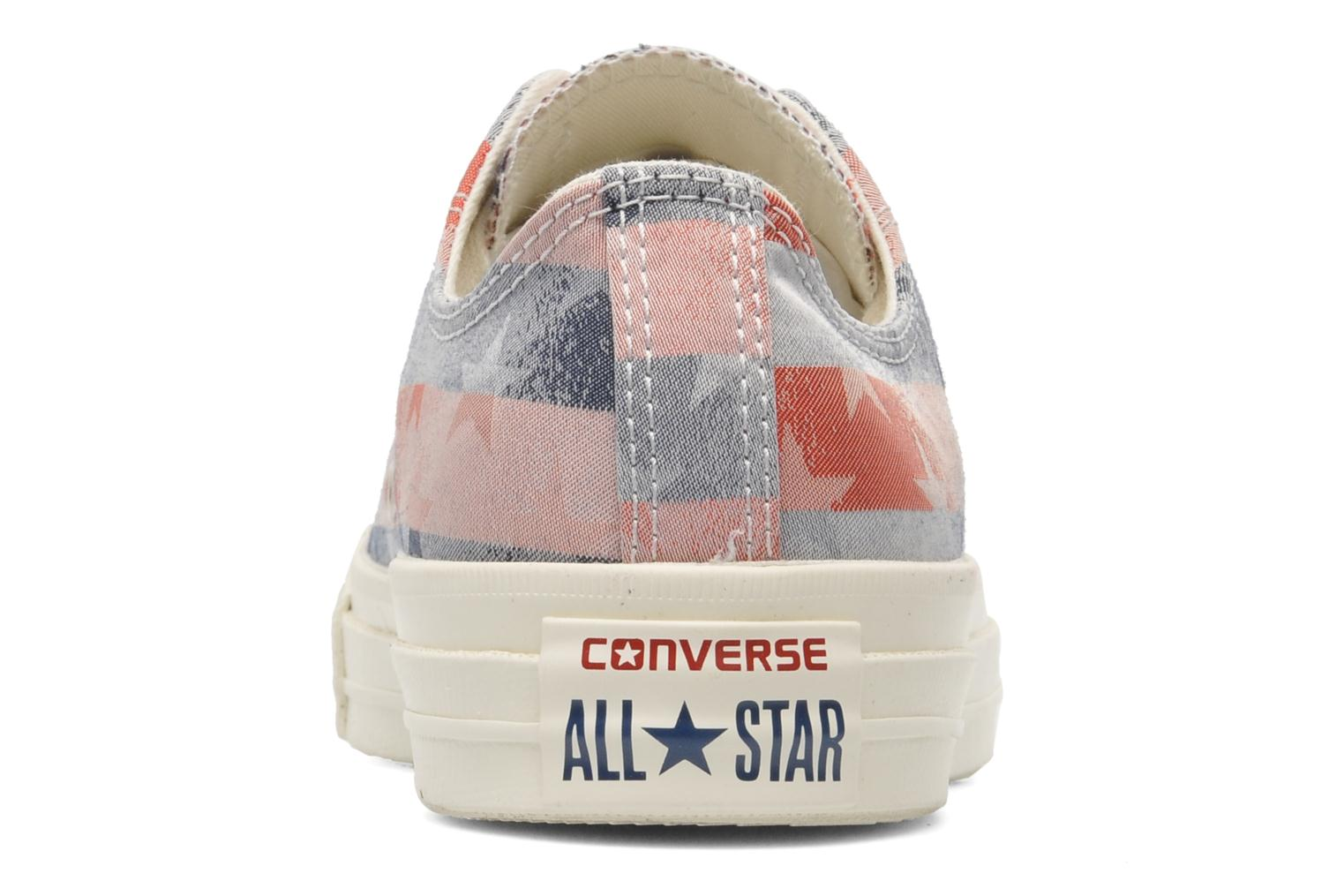 Trainers Converse Chuck Taylor Bars & Stars Jaquard Ox W Multicolor view from the right