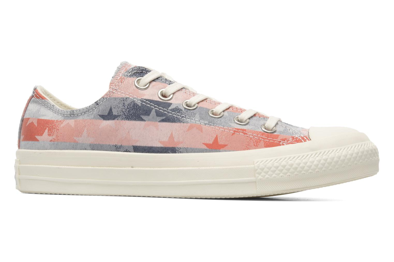 Sneaker Converse Chuck Taylor Bars & Stars Jaquard Ox W mehrfarbig ansicht von hinten