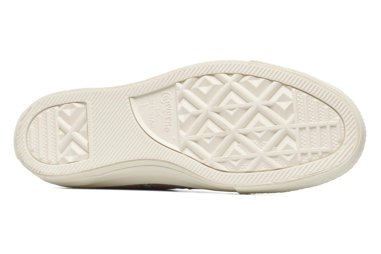 Sneaker Converse Chuck Taylor Bars & Stars Jaquard Ox W mehrfarbig ansicht von oben