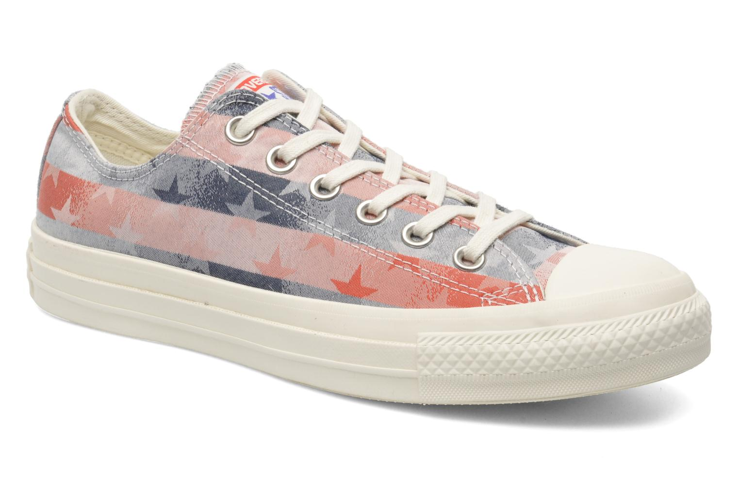 Sneaker Converse Chuck Taylor Bars & Stars Jaquard Ox W mehrfarbig detaillierte ansicht/modell