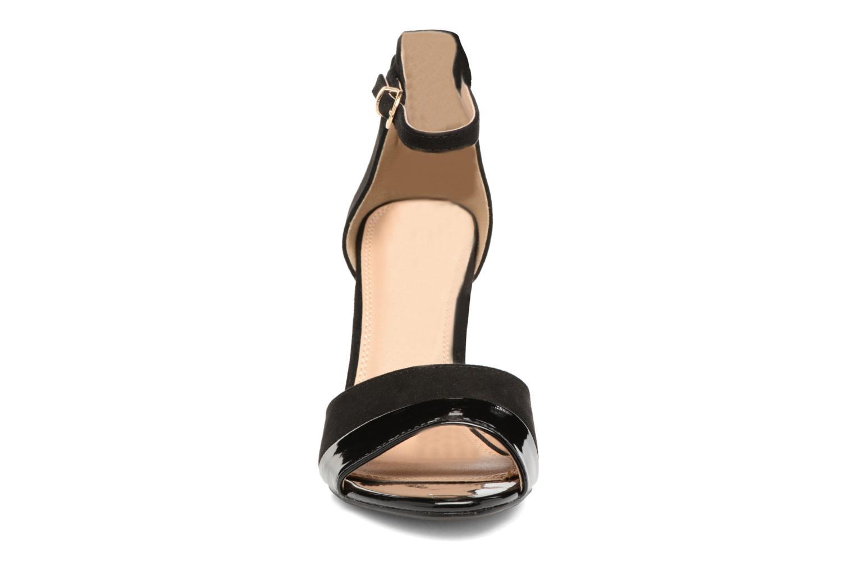 Sandalen Buffalo Olivia schwarz schuhe getragen