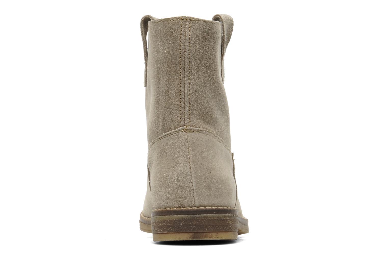 Bottines et boots Acebo's Cothurne Gris vue droite