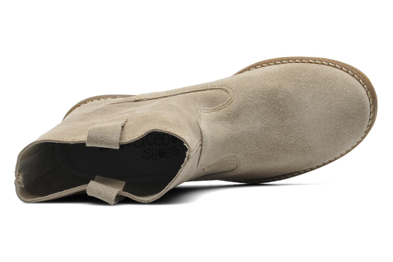 Stiefeletten & Boots Acebo's Cothurne grau ansicht von links