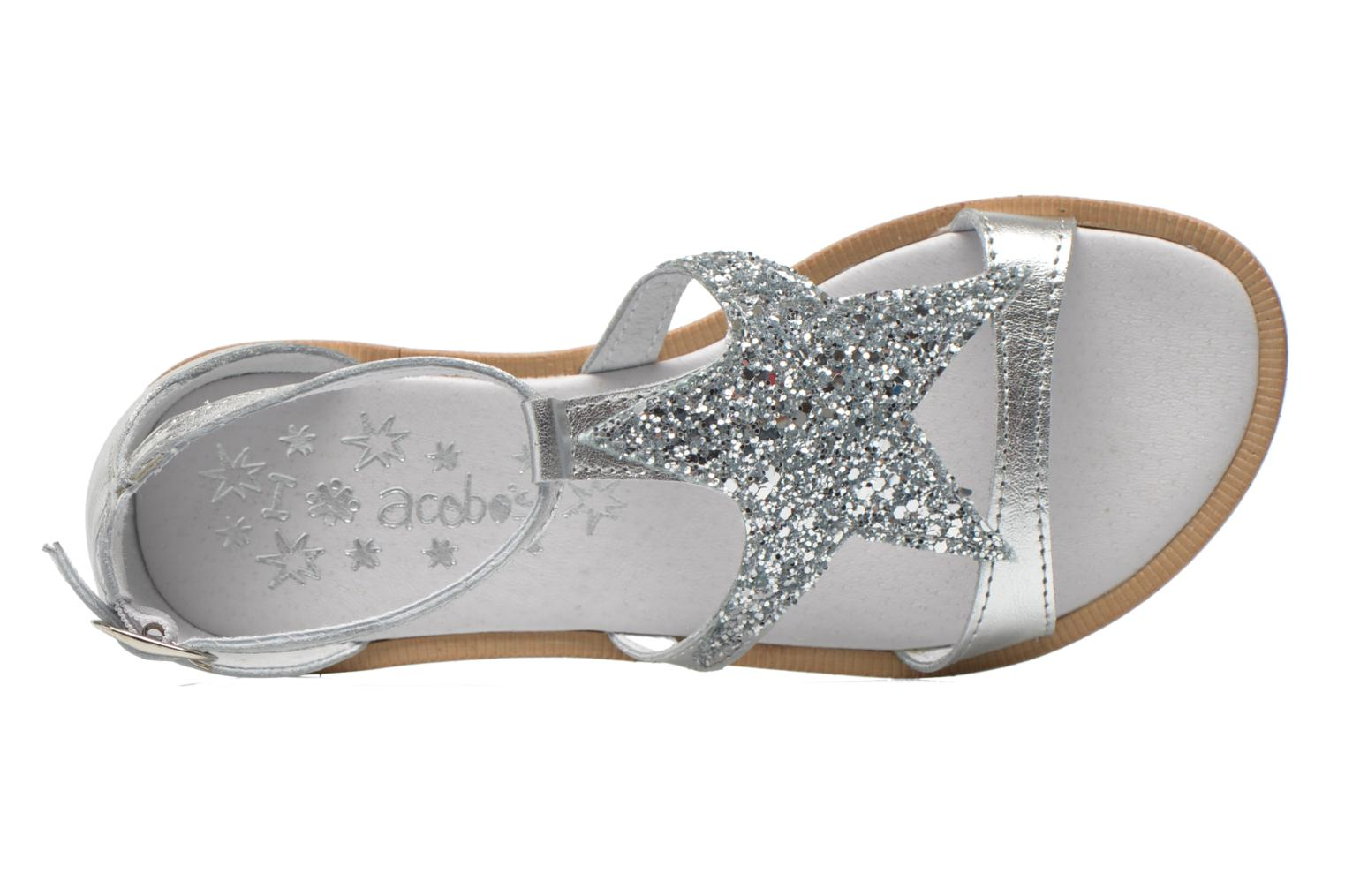 Sandalen Acebo's Constellé Zilver links