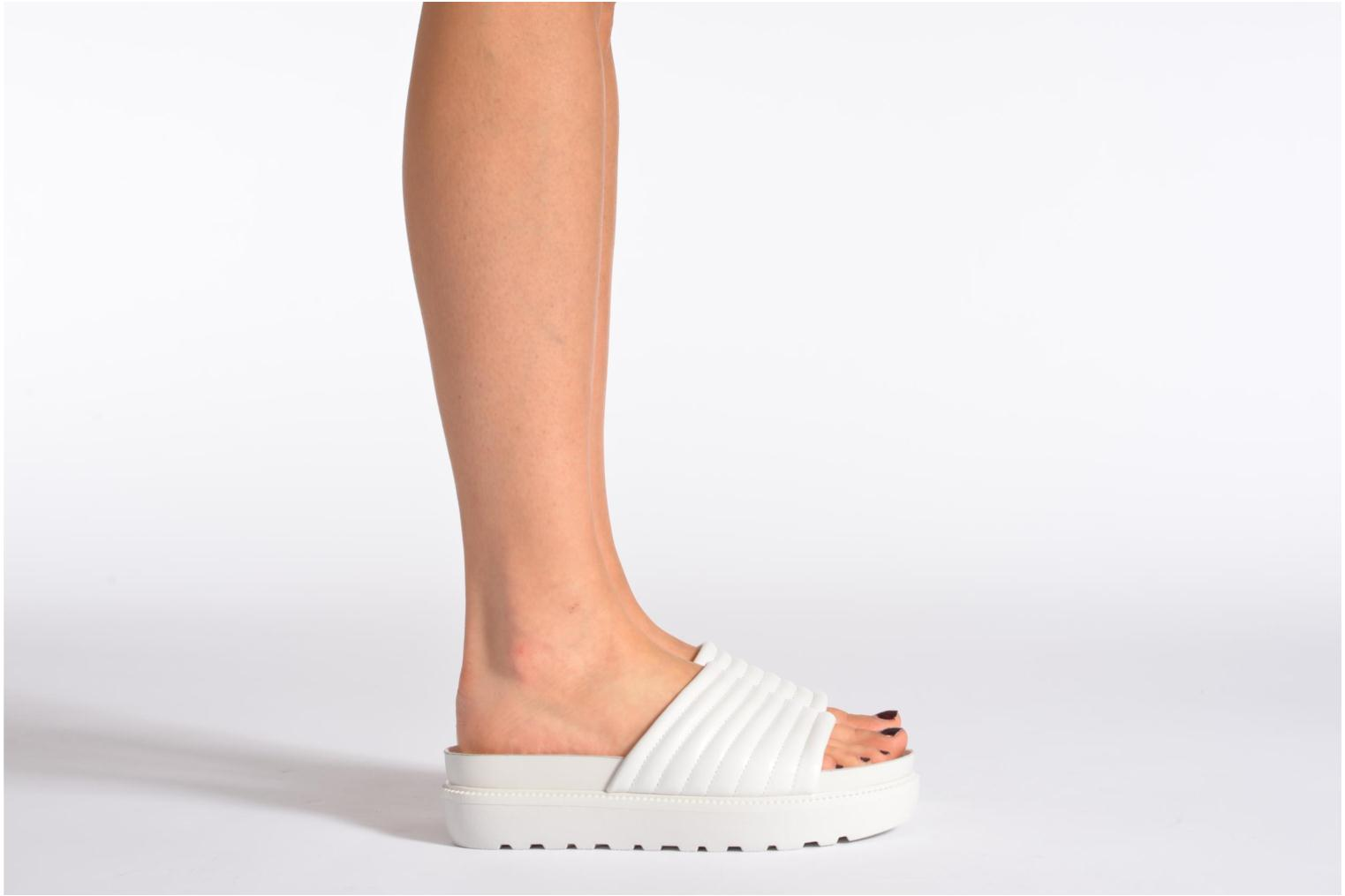 Mules & clogs Vagabond IRENE 3934-201 White view from underneath / model view