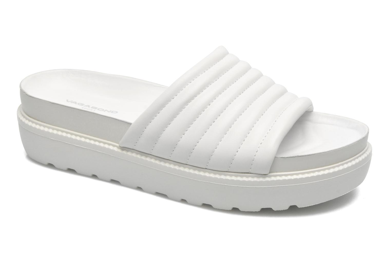 Clogs og træsko Vagabond IRENE 3934-201 Hvid detaljeret billede af skoene