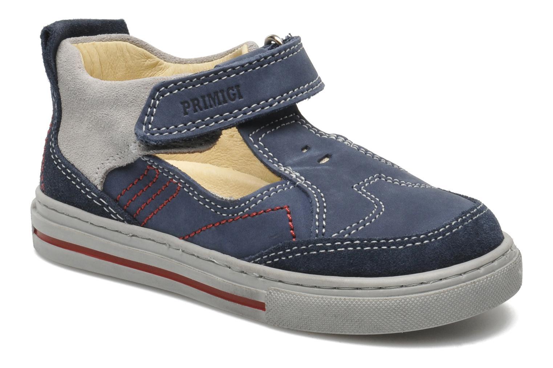 Sneakers Primigi RHOY-E Blå detaljeret billede af skoene