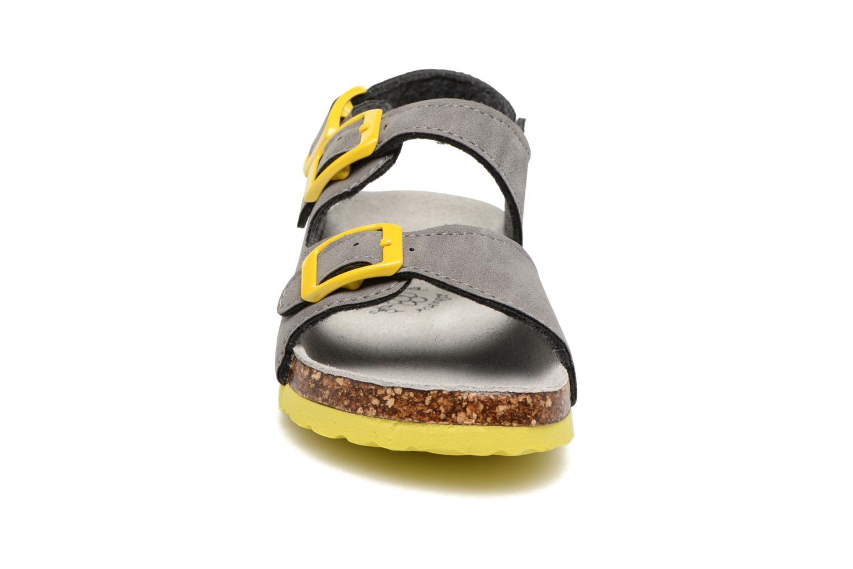 Sandalen Colors of California Bio Matt sandal grau schuhe getragen